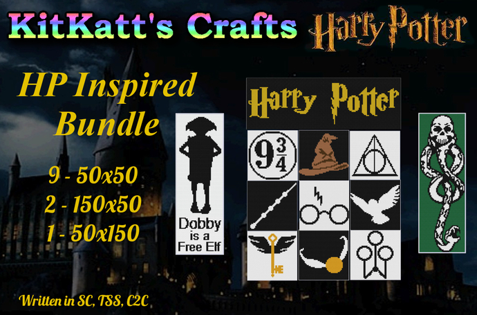 Harry Potter inspired  Bundle