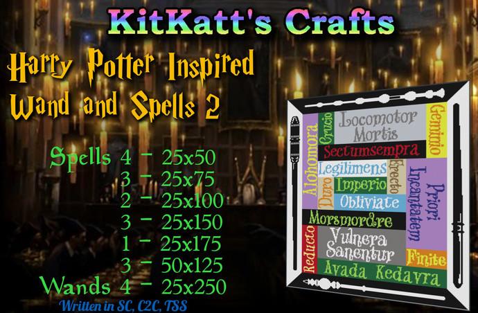 Harry Potter Spells 2