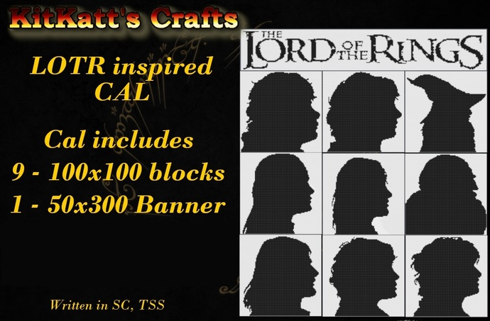 Lord of the Rings Block set 1