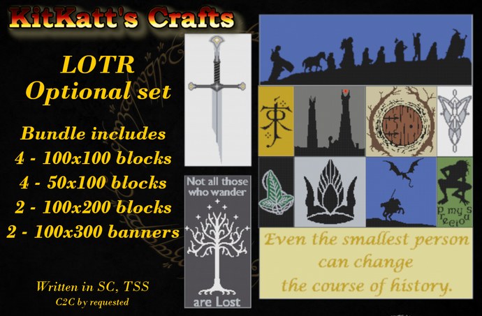 Lord of the Rings block set 2