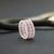 Beaded rings for women, Boho ring, Bohemian ring, Thin ring, Seed bead ring