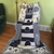 Lighthouse Afghan Locking Filet Crochet Pattern for Twin Bed