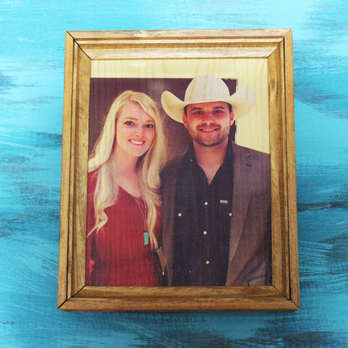 Personalized 8x10 Photo Frame