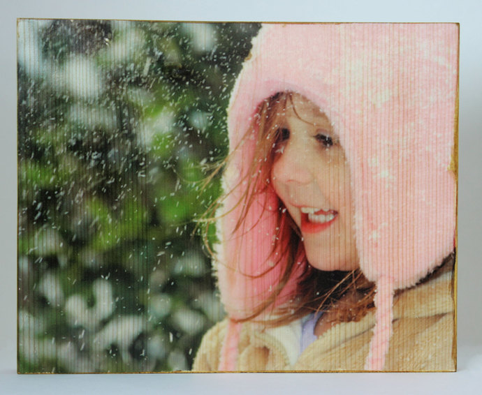 8 x 10 Inch Wood Photo Panel - Your Photo on Wood!