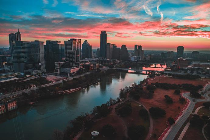Austin Winter Sunrise 1