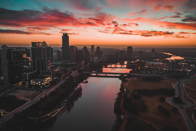 Austin Winter Sunrise 2