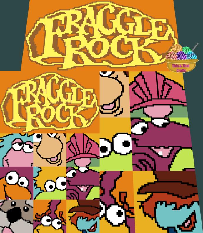Fraggle Rock Blocks (c2c)