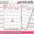 Baby Its Cold Outside Baby Shower Game Cards Bundle Set of 9 Shower Pink Glitter