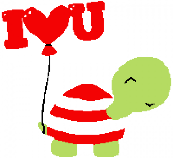 I Love You Turtle