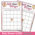 Oh the Places She Will Go Baby Shower Game Cards Bundle Set of 9 Shower Pink