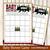 Lumberjack Baby Shower, Game Cards Bundle Set of 9, Buffalo Plaid Baby Games