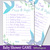 Mermaid Baby Shower, Game Cards Bundle Set of 9, Mermaid baby shower games, Baby