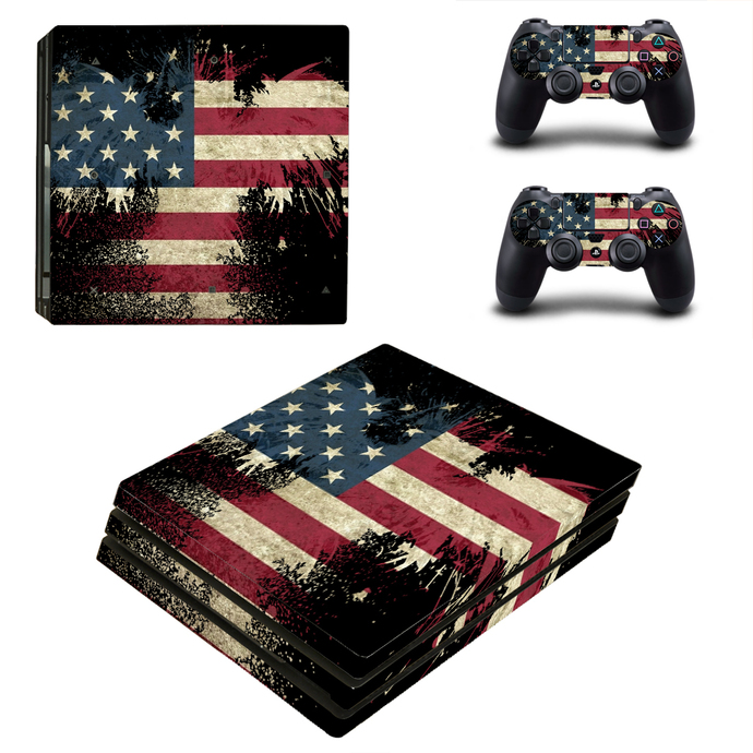 USA Flag PS4 Pro Skin