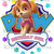 Paw Patrol Skye Birthday Girl Digital Image/Printable Transfer/Printable at