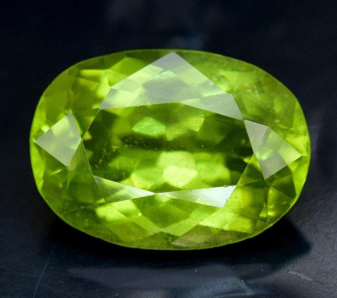 7.40 cts Top Grade Natural Olivine Green Natural Peridot Gemstone ~ 14*9*7 mm