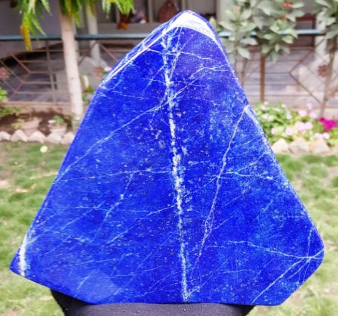 3177 Gram Top Grade Royal Blue Color Natural Lapis Lazuli Tumble ~ Healing Stone