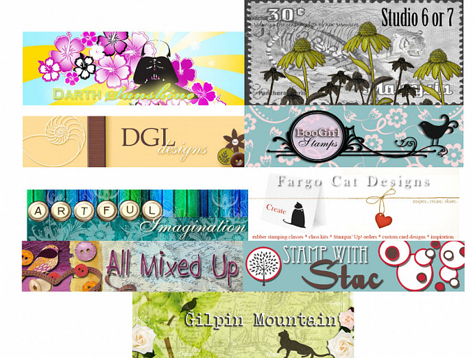 Blog/Zibbet/Etsy Headers