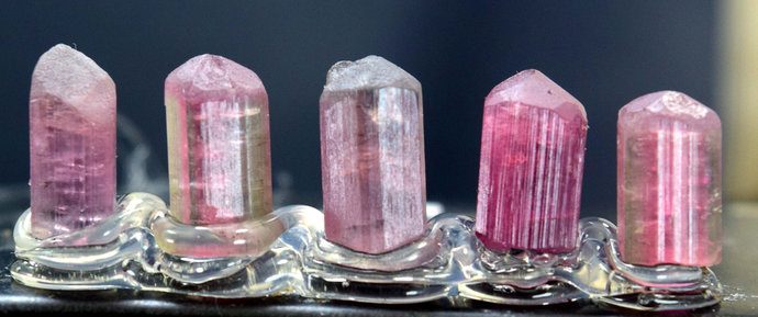 32.80 carats Terminated Tourmaline Crystals Lot from Afghanistan - 13*7*6 mm