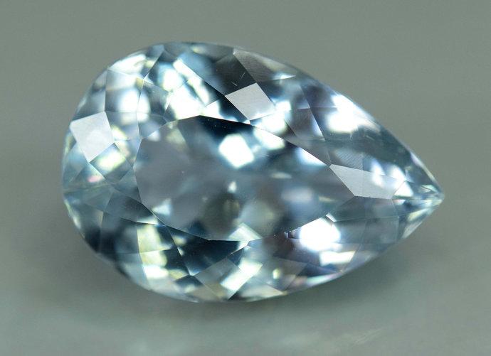 23.25 carats  Aqua Color Natural Spodumene Gemstone ~ 21*15*11 mm