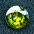 1.25 carats AAA Color Full Fire Natural Chrome Sphene from Skardu Pakistan -