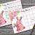 60 bunny baby shower bingo cards ,rabbit baby shower bingo, mom and son Baby