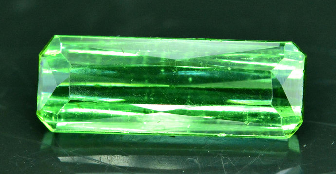 4.30 cts Top Grade Natural Green Color Tourmaline from Afghanistan