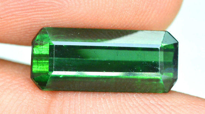4.40 cts Top Grade Natural Green Color Tourmaline from Afghanistan