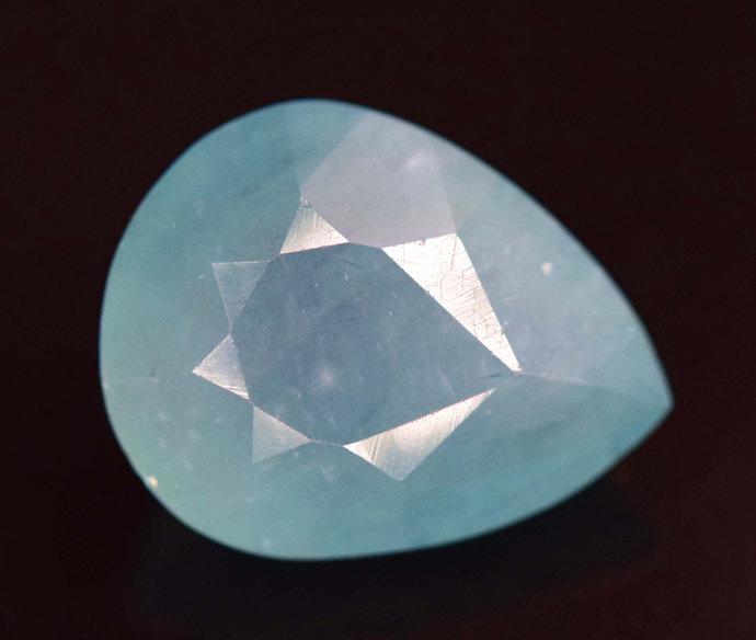 5.30 cts Rare Grandidierite Loose Gemstone From Madagascar - 13*10*7 mm