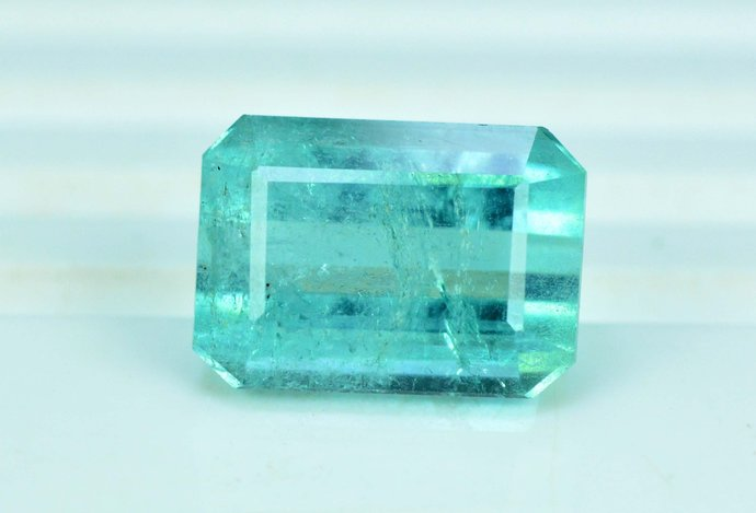 11.15 carats Sea Foam Color Natural Tourmaline Loose Gemstone from Afghanistan -