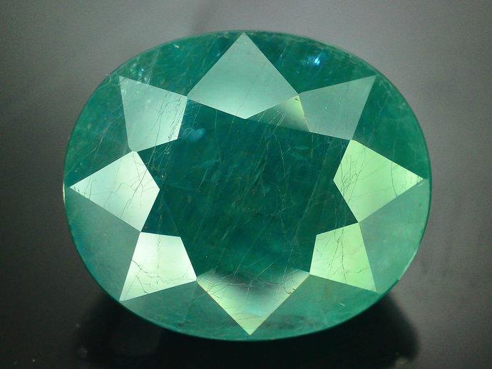 12.65 cts Rare Grandidierite Loose Gemstone From Madagascar - 16.5*13.8*8.6 mm