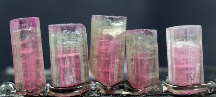 MP01-347  , 48.45 carats Terminated Tourmaline Crystals Lot from Afghanistan -