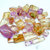 495 Gram Lustrous and Transparent Natural Hot Pink And Bi-Color Kunzite Tumbled