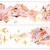 1 Roll of Limited Edition Washi Tape- Turkey Lamps on top of the Clouds
