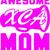 This is what an awesome  XCA cheer Mom looks like, Cheer leading, Cheerleader,