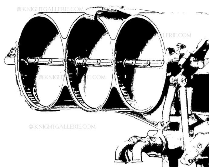Motorsports Illustration: Nitro Engine