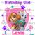 Paw Patrol Skye and Everest Birthday Girl