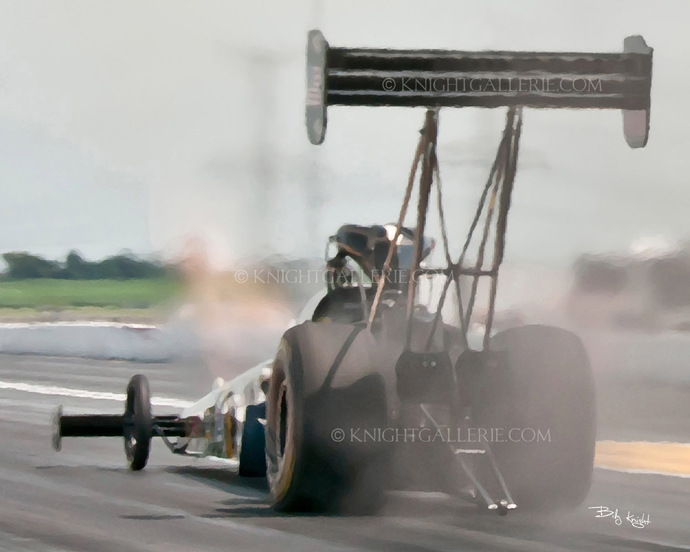 Motorsports Image: Top Fuel Thunder