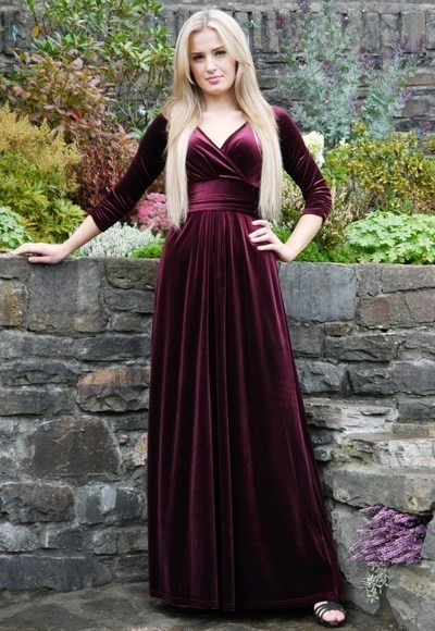 Sexy Prom Dress,Backless Prom Dresses,Long Sleeve Evening Dress,Formal