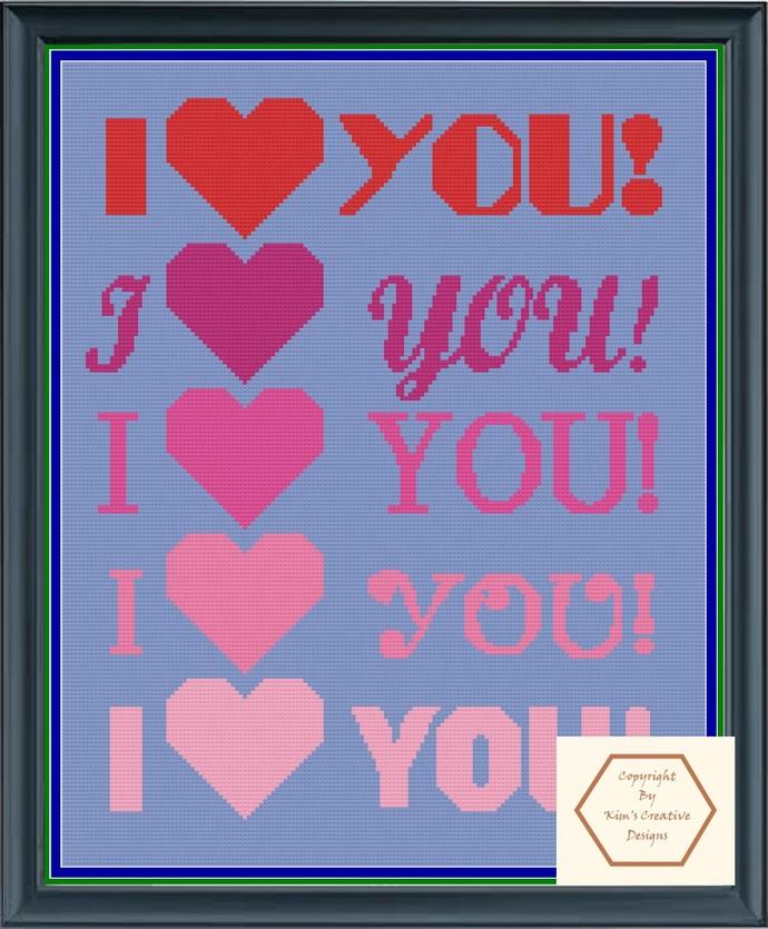 I love You - SC/HDC 160 x 200