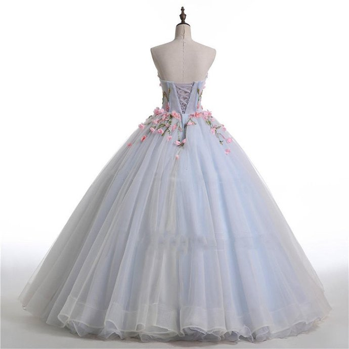 Floor-length Advanced Customization Lace Up Sweetheart Ball Gown,Dream Princess