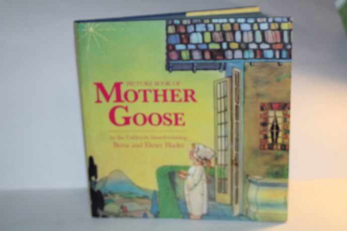 Picture Book of MOTHER GOOSE-Berta & Elmer Hader 1994
