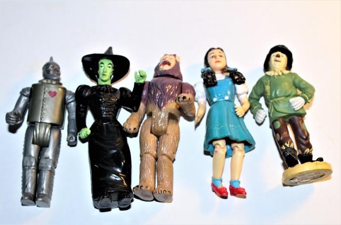 Vintage 1988 MGM Wizard of Oz Dolls