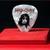Commemorative  guitar pick and display case: Alice Cooper