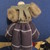 (Emma) Gorgeous Handmade Vintage Style Doll - 18 inches Tall