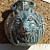 Wolf Ceramic Vessel