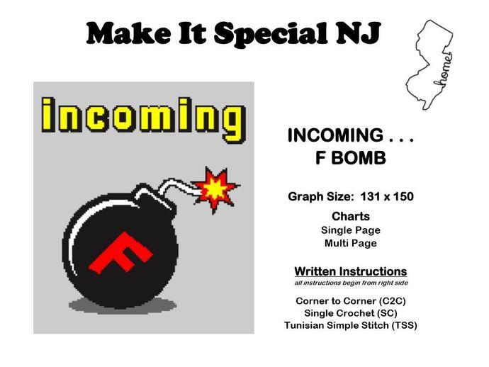 Incoming . . . F Bomb