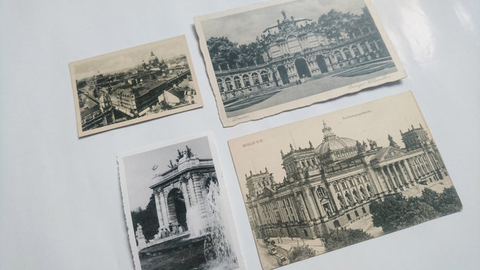 Vintage Germany City Postcards and Photos Pack