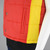 80s Retro Ski Vest Vintage, Deadstock Puffy Red Yellow Western Flare Vest,
