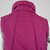 70s Retro Puffy Vest Vintage, Fuchsia Purple Sleeveless Quilted Puffer Snap
