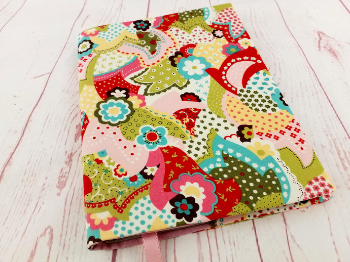 Patchwork Floral A5 Journal Cover